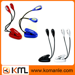 Double pole Lamps dry battery /Rechargeable led car reading light