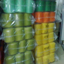 Low Price colored (Solid) 30%/70% wool acrylic blended yarn in stock