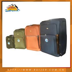 "36"" King Size Travel Trolley Luggage Bag,8 Transparent Wheels Trolley Luggage Bag, Polo Trolley Luggage"