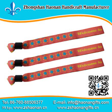 custom personalized free woven wristbands,sport wristbands headbands for adult woven wristband with a message