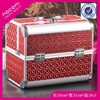 Promotional aluminum cosmetic display case cosmetic case