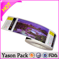 Yason sticker for chemical products cute animal stickers cosmetic label/ sticker