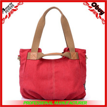 New recreational canvasfashion female bag shoulder bag
