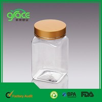 Competitive price China factory price wholesale candle jar with metal lid