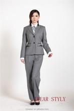 3 pezzi giacca e cravatta per le donne/tailleur