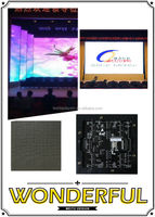 aliexpress fr rental P4 led video display indoor