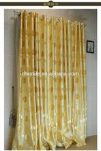 901 serie elegante semi apagón del personalizar cortina cortina salón