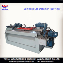 Wood Log Debarker for log rounding machine