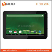 2015 latest style android mid tablet pc manual 9'' hd tablet dual with flash light big battery two cameras