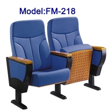 FM-218 fabric padded luxury chair for the school auditorium hall