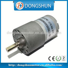 DS-37RS3530 37mm Manufacture High Effeciancy dc gear motor for wheelchair
