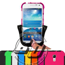 Top Selling Durable Solikon Touch Screen Strong Shock Proof Full Cover Case for Samsung Galaxy S4 mini armor case fast delivery