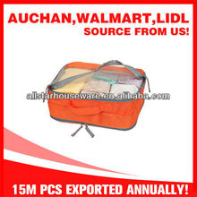 Small 2-layer Color Polyester Storage Bag with Mesh