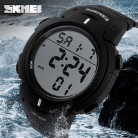 50m Waterproof Alarm,Luminous,Stopwatch watch digital wrist waterproof
