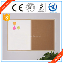 Perfect!Factory supplier home decorative half magnetic whiteboards and half cork boards,display customized magnetic whiteboards