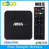 Hottest Selling M8S unlock cable tv box Amlogic S812 2g 8g Camera 5.0 MP 5ghz WiFi HDMI Google Smart Tv Box