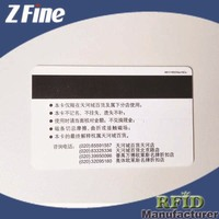 credit card making machine for Magnetic Stripe PVC Smart Card