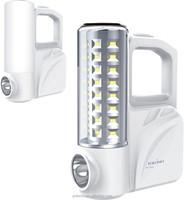 fashion solar emergency energy saving light with torch