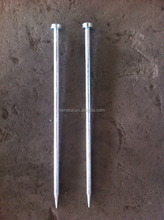 High strengh Forged Grounding soil nail,high quality framing nails