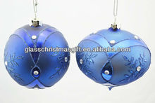 New indoor fashion christmas glass ball decorations,Trade Assurance supplier