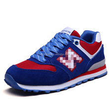 genuine leather running shoes men sport have sample cheap price, high quality women sport shoes running for male female