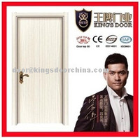 Interior scratch-proof melamine wooden door for hotel