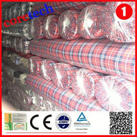 Wholesale Woven 100% cotton yarn dyed shirting fabric factory