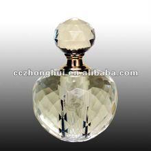 Wholesale beautiful brand custom crystal perfume bottle for gift