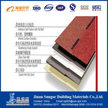 Free Sample for Your Evaluation Fiberglass Based Materials Bitumen Roofing Shingle