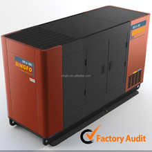 CE approved 185KW electronic diesel silent power genset with global warranty