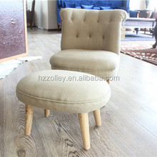 Australia antique wooden kids furniture kis chair and ottoman
