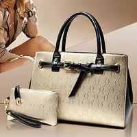 Brand fashion handbags handbags famous PU bag ladies tote bag with a purse SY6267