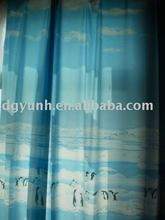 Peva/normal pvc cortina de la ducha