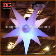 Attractive White Decoration LED Inflatable Lighting Star