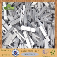 25*7mm Wooden Photo Paper Peg Pin Clothespin clips