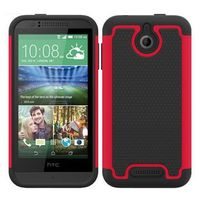 Football Pattern Hybrid PC and Silicone Rugged Protective Case for HTC Desire 510
