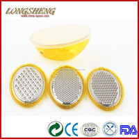 Multi Purpose Stainless Steel Ginger Grater F0901-F0903 Onion Grater