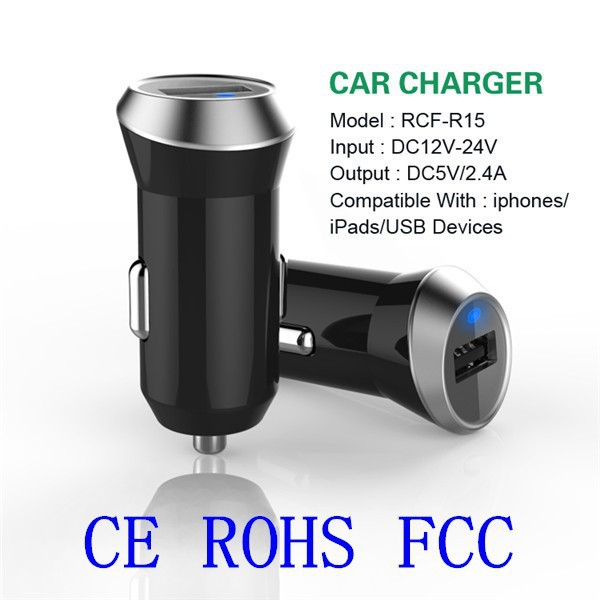 Newest 2 port USB Car Charger, for iphone 6 samsung portable charger, car charger