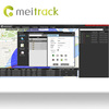 Meitrack gps car management software with diagnostic tracking MS03