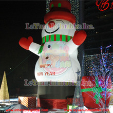 Giant inflatable snowman/christmas snowman decoration for sale