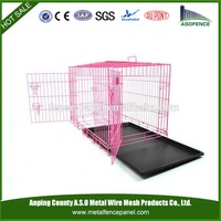 alibaba china manufacture hot sale Wholesale Stainless Steel large Cage for dog(for Europe market)