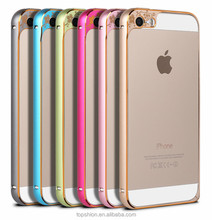 Hot selling for iPhone 5s case aluminum alloy bumper frame cover casing with various colors