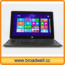 High Quality 10 inch Inter Z3740 CPU Windows Tablet PC With IPS Capacitive Screen 2GB Memory Bluetooth