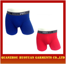 Huoyuan sexy Mens Long Boxer Shorts uomo boxer collection