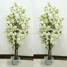 Romantic White Pink Cherry Trees Wedding Decoration Fake Tree