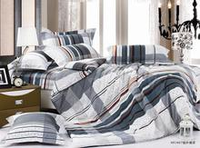 classic cubic design bed cover set for group up
