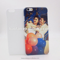 Year-end promotion!Offer printing service! 3D phone case for iphone sublimation blank with your own name