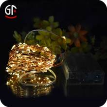 Top Sale Holiday and Wedding decoration copper wire led string lights