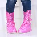 Hosehold e portátil sapatos de chuva cobrir velcro design galochas tampa