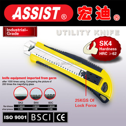 25mm Box Cutter Utility Knife automatic protect knife Snap Off stainless steel Blade utility knife